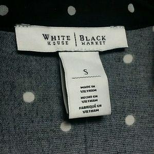 White House Black Market Tops - White House Black Market Polka-dot Blouse Size S